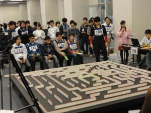 ロボット教材機でロボコン出場