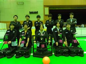 ロボカップ2011で準優勝
